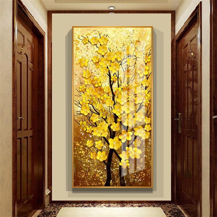 油絵 絵画 寝室 玄関 飾り 壁掛け インテリア美術品 風景絵 木の絵 印象派額装|forestjapan