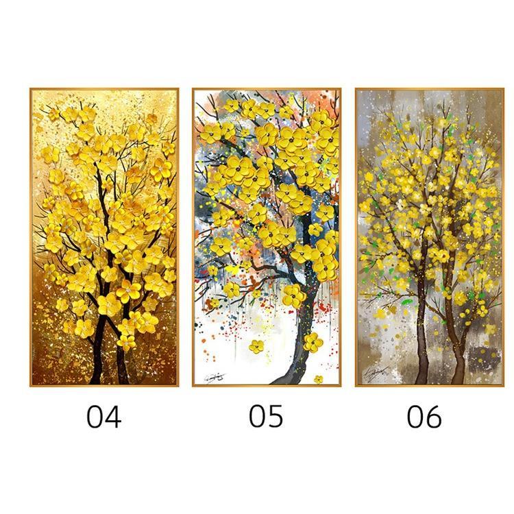 油絵 絵画 寝室 玄関 飾り 壁掛け インテリア美術品 風景絵 木の絵 印象派額装|forestjapan|02