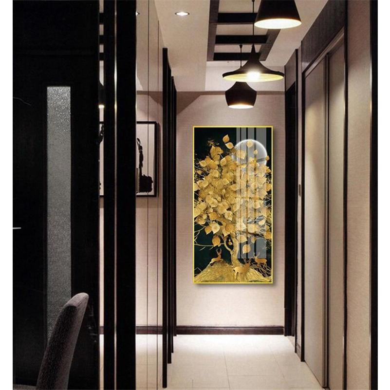 絵画 油絵 壁掛け 木の絵画 アートパネル 額つき インテリア 美術品 寝室 玄関飾り  撥水 縁起物 北欧風 forestjapan 04
