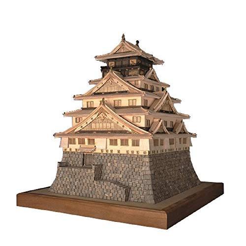 ウッディジョー 1/150 大阪城 木製模型 組立キット