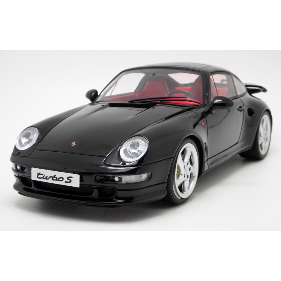 GT SPIRIT 1/18 GTスピリット ポルシェ 911 (993) Turbo S ブラック GT714 モデルカー ミニカー 模型
