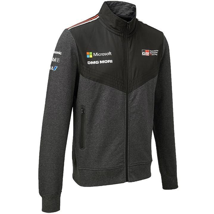 2018 トヨタ ガズー レーシング WRC チーム スウェット ジャケット ラリー TOYOTA GAZOO