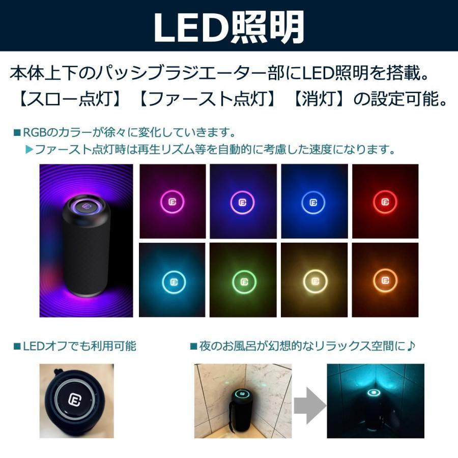 Bluetoothスピーカー ワイヤレス 高音質 大音量 重低音 防水 ゲーミング SDカード LED ハンズフリー お風呂 スマホ iPhone Android 40s CW1L forties 11