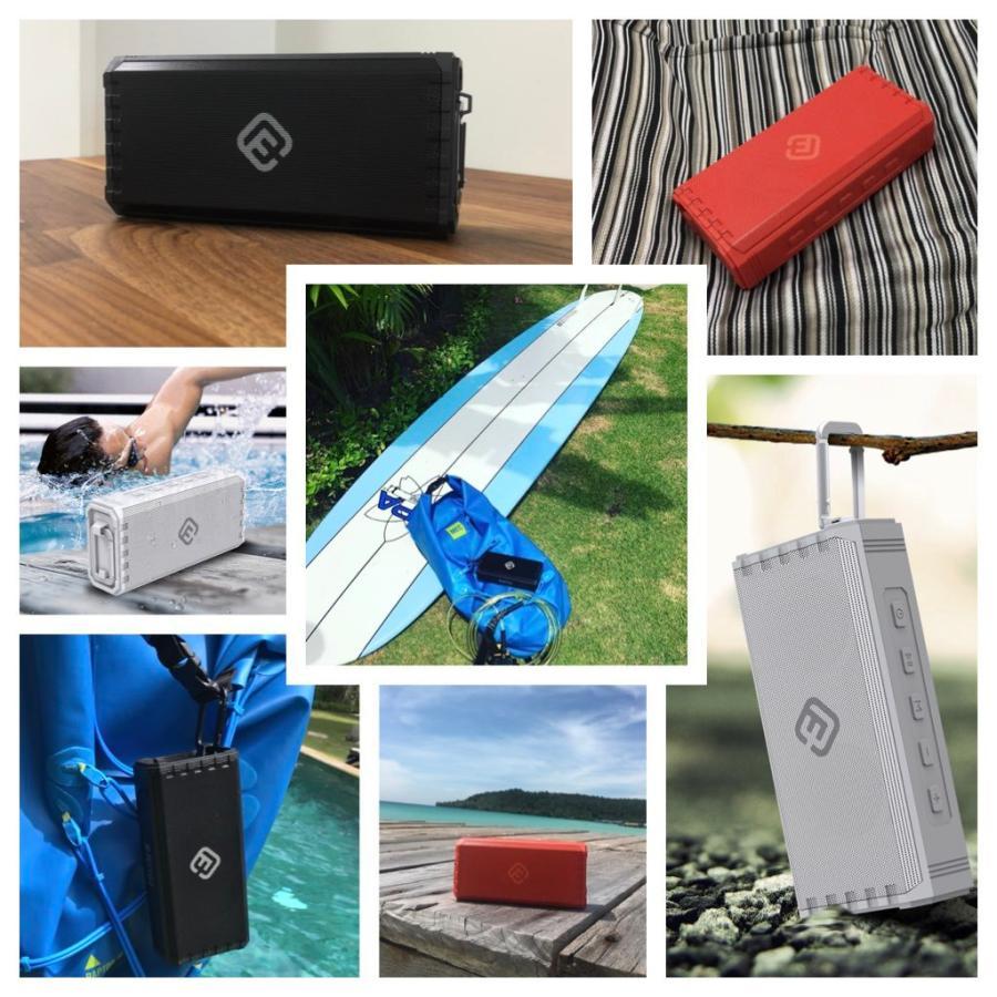 スピーカー Bluetooth ブルートゥース 防水 高音質 重低音 おしゃれ 大音量 SD iphone ワイヤレス スマホ ポータブル 40s HW1|forties|20