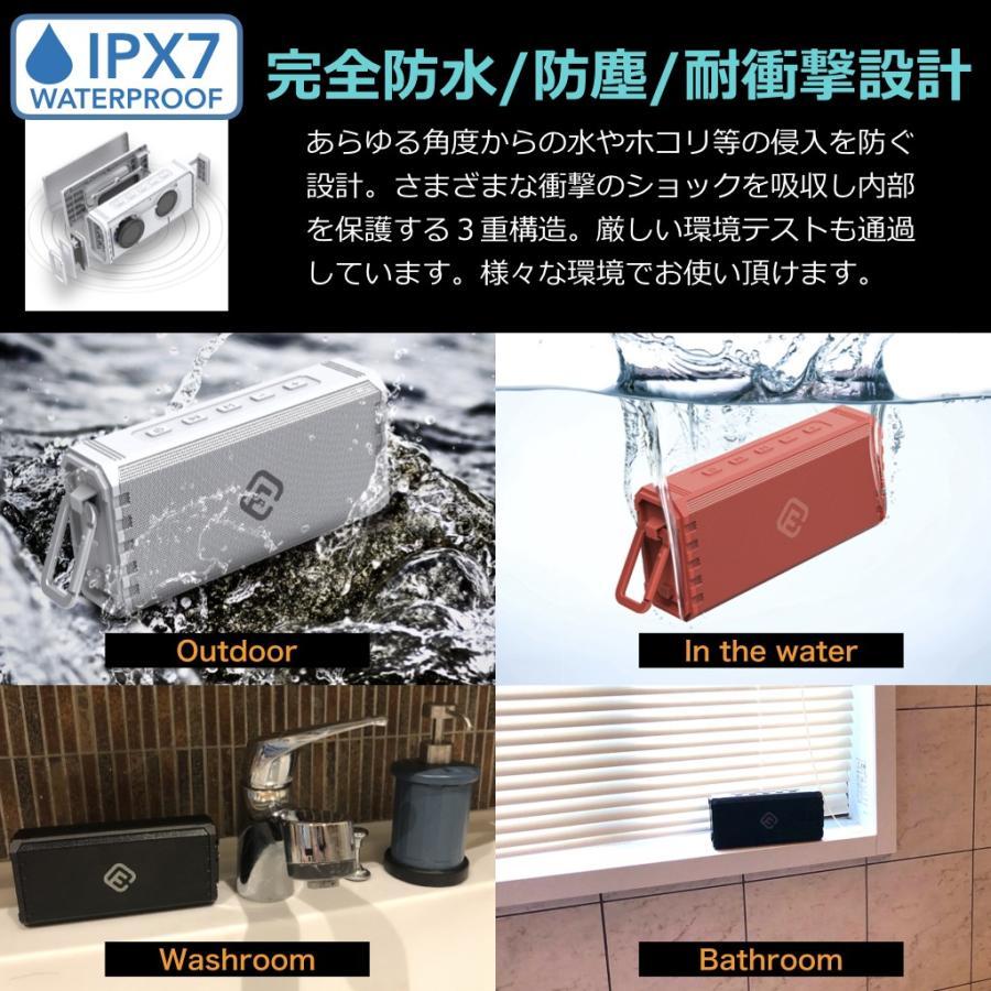 Bluetooth スピーカー 防水 高音質 大音量 重低音 アウトドア ステレオ ブルートゥーススピーカーおしゃれ SDカード ワイヤレス スマホ 風呂 ポータブル 40s HW1 forties 06
