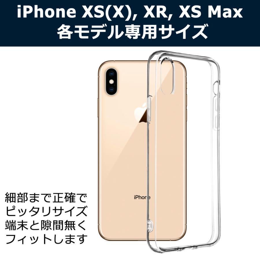 iPhoneケース XS XR XSmax クリアケース 透明 ケース クリア カバー 薄型 耐衝撃 軽量 TPU Qi ワイヤレス充電対応 ストラップ ポイント消化 送料無 40s forties 02