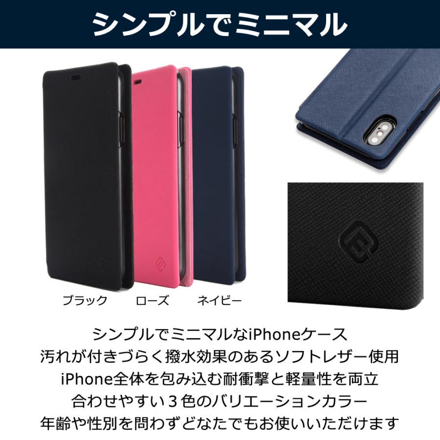 iPhone XS ケース 手帳型 iPhoneXS 耐衝撃 スタンド機能 薄型 カード収納 Qi ワイヤレス充電対応ケース おしゃれ ポイント消化 送料無 40s|forties|04