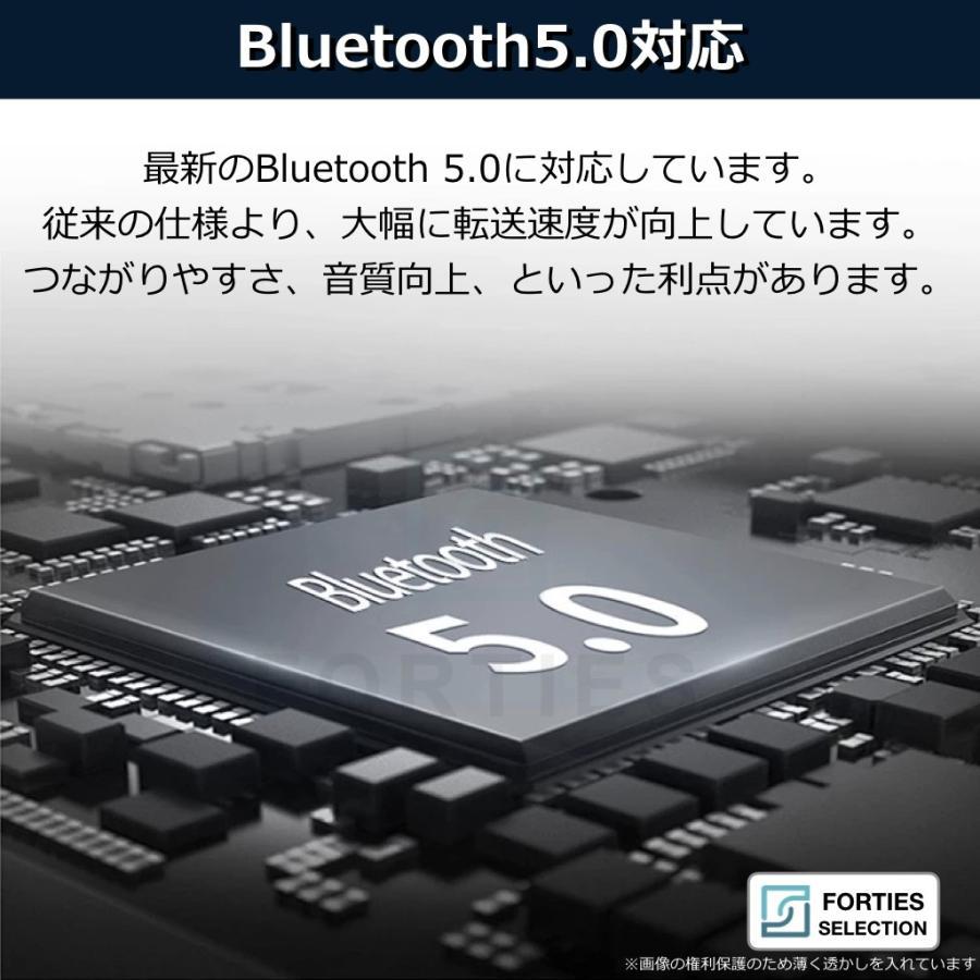 ワイヤレスイヤホン Bluetooth5.0 イヤホン 防水 IPX5 S5 ワイヤレス TWS イヤフォン 高音質 重低音 充電ケース付 iPhone Android ブルートゥース5 小型 軽量|forties|04