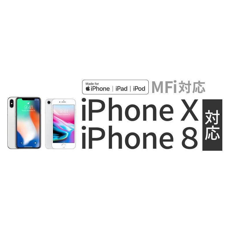 【MFi認証】 Lightning ケーブル 2m iPhone 充電ケーブル ライトニングケーブル 認証 iPhone X 8 7 6s Plus 5s 5c iPad Air mini 対応 fortune 02