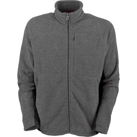 The North Face Men's TKA200 Echo Fleece Full Zip Jacket-GGH/AG
