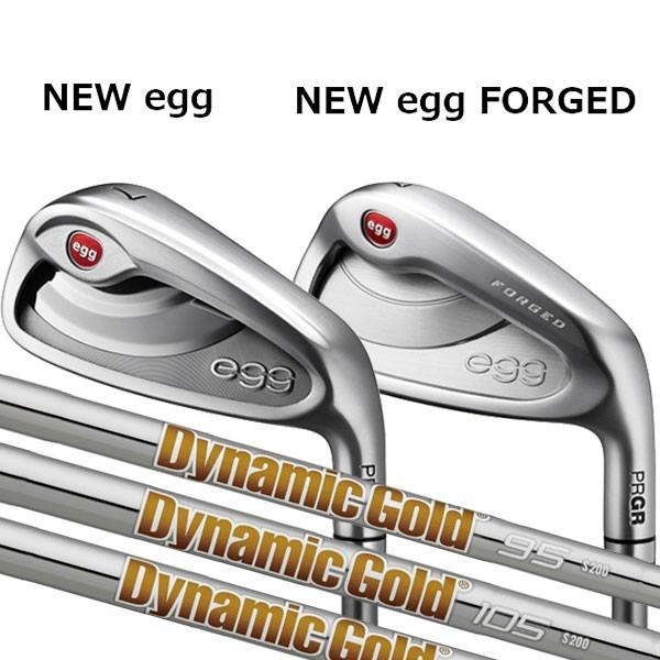 プロギア 2020 ニュー エッグ アイアンNEW egg(飛距離特化)/NEW egg FORGED(軟鉄)4本セット(#7〜#9,PW)[ニューダイナミックゴールド] NEW DG DG120/DG105