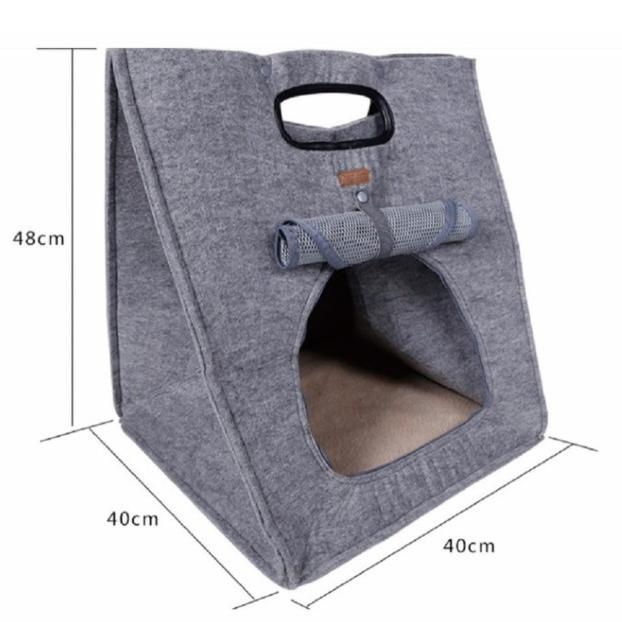 猫 キャリーバッグ 折りたたみ おしゃれ 大型 トート バッグ 軽量 ペットキャリーバッグ ペットハウス ペットケージ 猫ケージ 小型 中型 犬 ねこ|four-piece|11