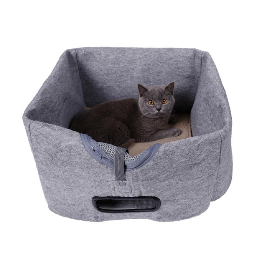 猫 キャリーバッグ 折りたたみ おしゃれ 大型 トート バッグ 軽量 ペットキャリーバッグ ペットハウス ペットケージ 猫ケージ 小型 中型 犬 ねこ|four-piece|12