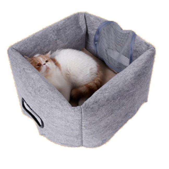 猫 キャリーバッグ 折りたたみ おしゃれ 大型 トート バッグ 軽量 ペットキャリーバッグ ペットハウス ペットケージ 猫ケージ 小型 中型 犬 ねこ|four-piece|15