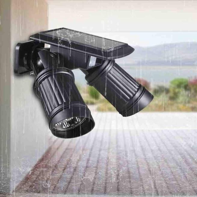 ソーラーライト 屋外 人感センサー LED 明るい おしゃれ 防水 センサーライト 玄関 防犯 ライト 外灯|four-piece|18