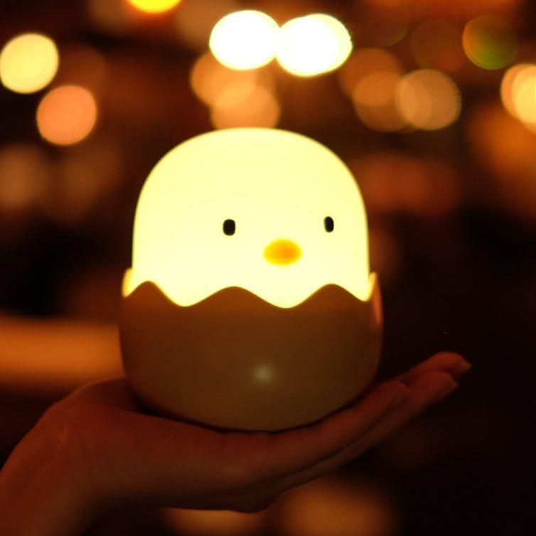 LED ベッドサイドランプ 間接照明 USB充電 おしゃれ ナイトライト 寝室 リビング インテリア ライト ヒヨコ テーブルランプ  照明  かわいい コードレス|four-piece|15