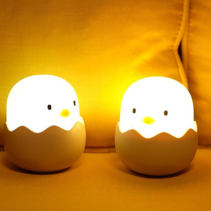 LED ベッドサイドランプ 間接照明 USB充電 おしゃれ ナイトライト 寝室 リビング インテリア ライト ヒヨコ テーブルランプ  照明  かわいい コードレス|four-piece|16