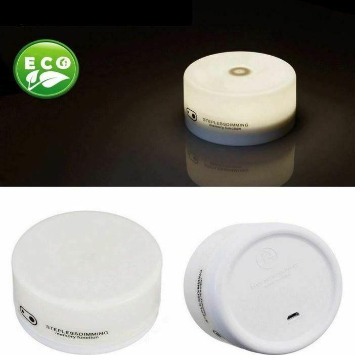 ナイトライト LED 調光 タッチライト 間接照明 おしゃれ USB充電 寝室 リビング 授乳 フットライト テーブルランプ 北欧 コードレス シンプル 2個セット four-piece 09