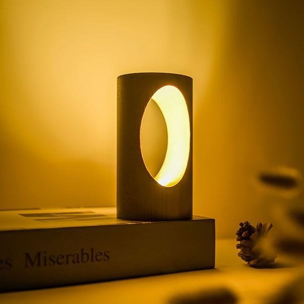 デスクライト LED 北欧 USB充電 ミニ 調光 円形 コンパクト テーブルランプ おしゃれ 間接照明 卓上 木 かわいい ベッドサイドランプ 和風スタンド|four-piece|13