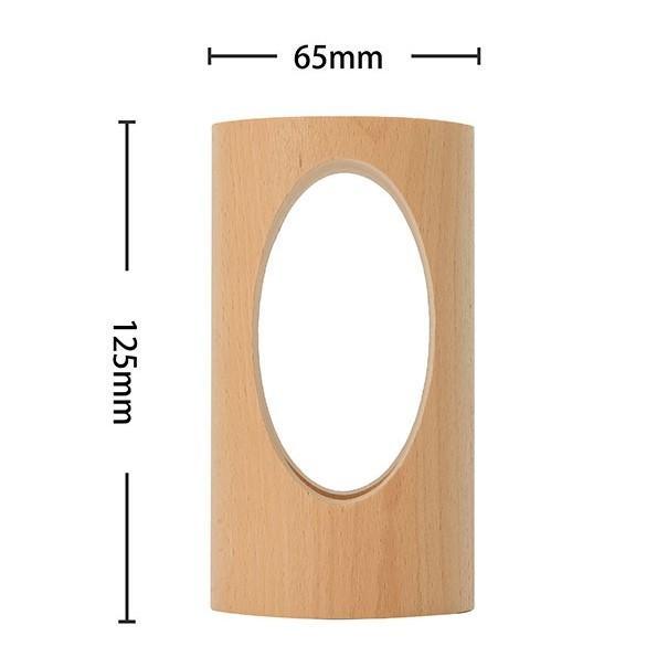 デスクライト LED 北欧 USB充電 ミニ 調光 円形 コンパクト テーブルランプ おしゃれ 間接照明 卓上 木 かわいい ベッドサイドランプ 和風スタンド|four-piece|10