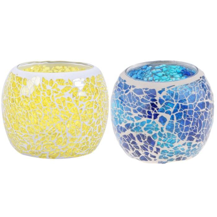 キャンドルホルダー ガラス アンティーク おしゃれ 北欧 キャンドルスタンド 陶器 ステンドグラス グラス ランタン キャンドルグラス キャンドル立て|four-piece|11