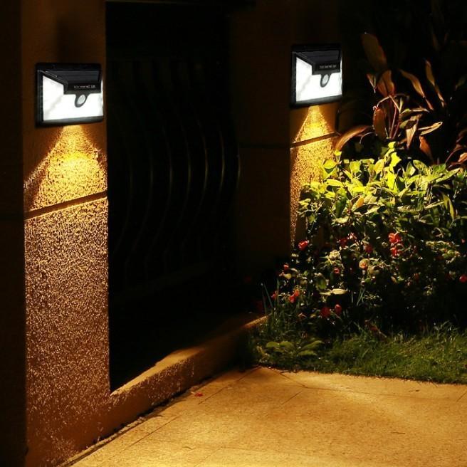 センサーライト 屋外 LED ソーラー 防犯 玄関 32 ソーラーライト 人感センサー おしゃれ 明るい 庭 ガーデン ガーデンライト 外灯 防犯ライト 家庭用 工事不要|four-piece|09