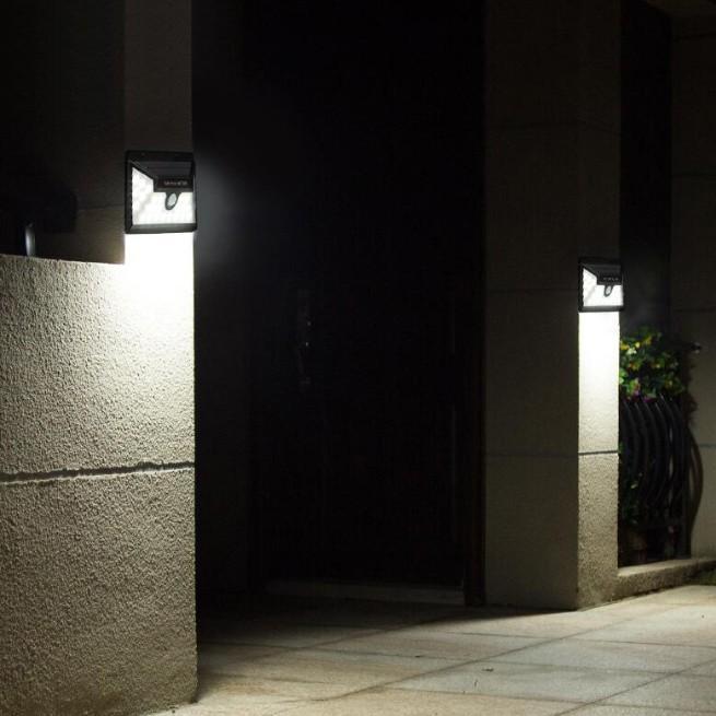 センサーライト 屋外 LED ソーラー 防犯 玄関 32 ソーラーライト 人感センサー おしゃれ 明るい 庭 ガーデン ガーデンライト 外灯 防犯ライト 家庭用 工事不要|four-piece|10