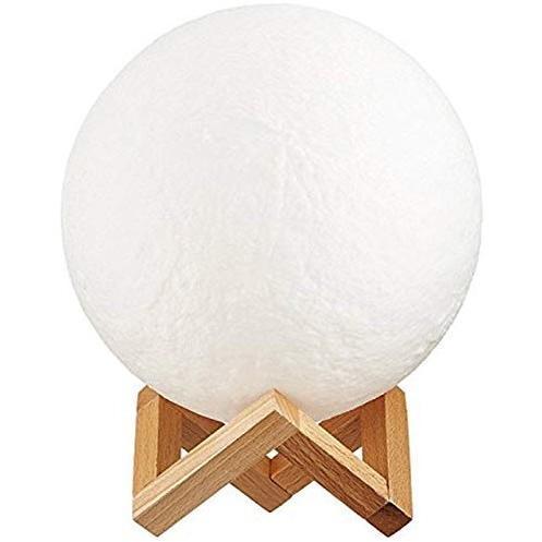 間接照明 おしゃれ LED 寝室 リビング テーブルランプ 北欧 調光 ベッドサイドランプ 月 ライト インテリアライト 月のランプ Mサイズ|four-piece|09