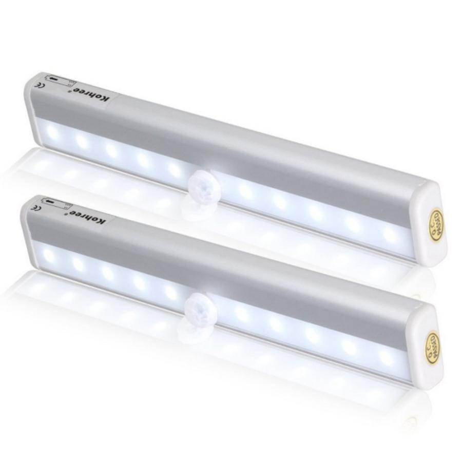 センサーライト 屋内 屋外 電池式 LED 人感センサー おしゃれ 明るい 玄関 ライト 階段 LEDライト 照明 小型 フットライト マグネット 防犯 防災 常夜灯|four-piece|18