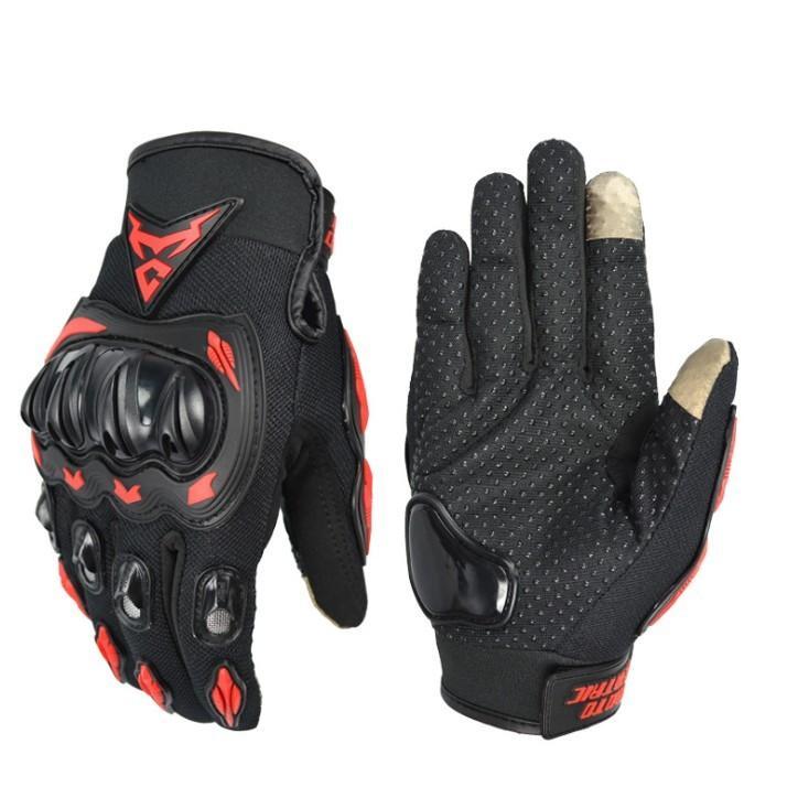 バイクグローブ 春 夏 スマホ 操作 対応 プロテクト グローブ 手袋 サイクルグローブ ライダーグローブ ナックルガード|four-piece|15