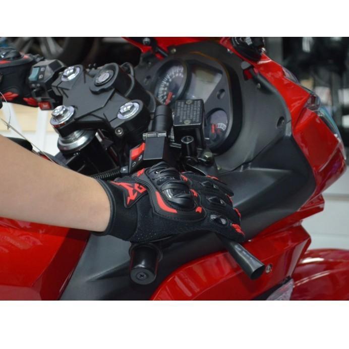 バイクグローブ 春 夏 スマホ 操作 対応 プロテクト グローブ 手袋 サイクルグローブ ライダーグローブ ナックルガード|four-piece|09