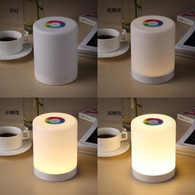 インテリア ライト 7色 間接照明 コードレス おしゃれ 北欧 LED 寝室 リビング ベッドサイドランプ テーブルランプ インテリア 照明 ナイトライト USB充電|four-piece|16