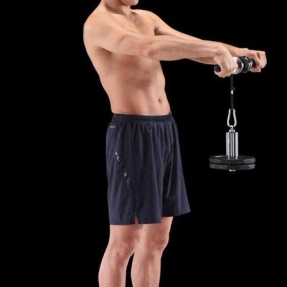 筋トレグッズ 腕 器具 リストローラー ダンベル 手首 前腕 筋トレ フィットネス 筋肉 筋力トレーニング|four-piece|13
