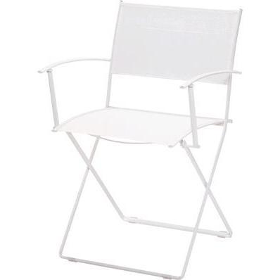 プレインエアアームチェア 01ホワイト ガーデンファニチャー フェルモブ