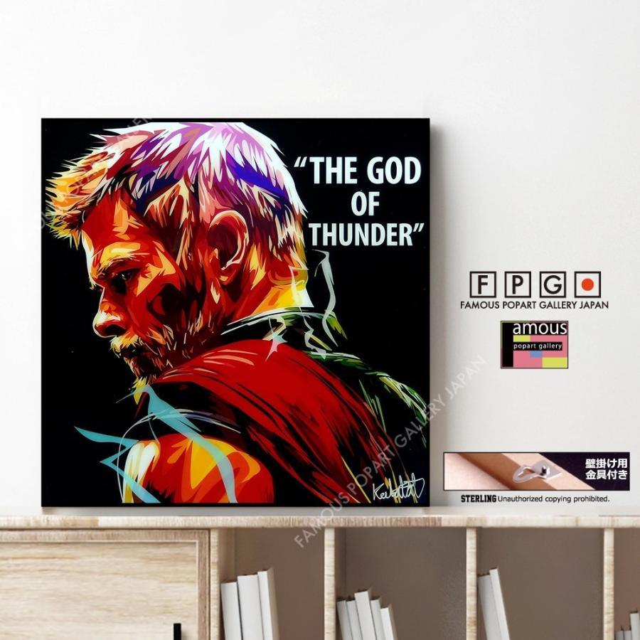 THOR -GOD THUNDER-,ソー,ポップアートパネル,ポップアートフレーム,Keetatat Sitthiket,キータタット シティケット,