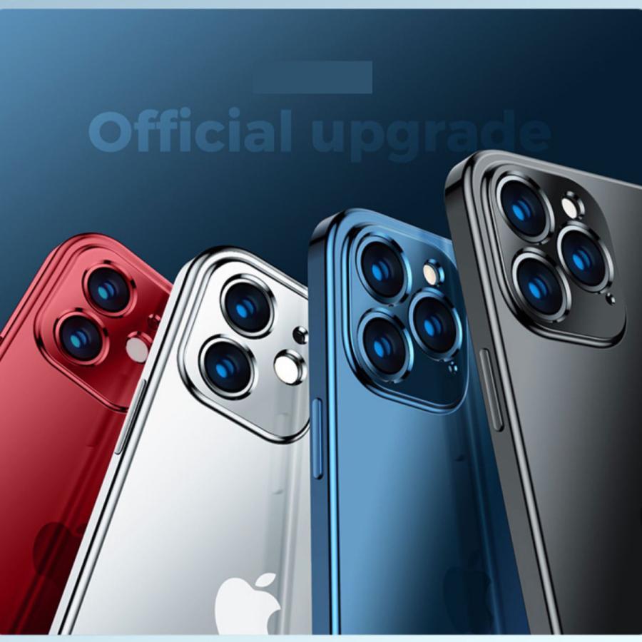 iPhone12 ケース iPhone12 Pro iPhone12 Pro Max iPhone12mini ケース カバー 指紋防止 レンズ保護 衝撃吸収 擦り傷防止 TPU 耐衝撃 薄型 軽量 ケース|francekids|13
