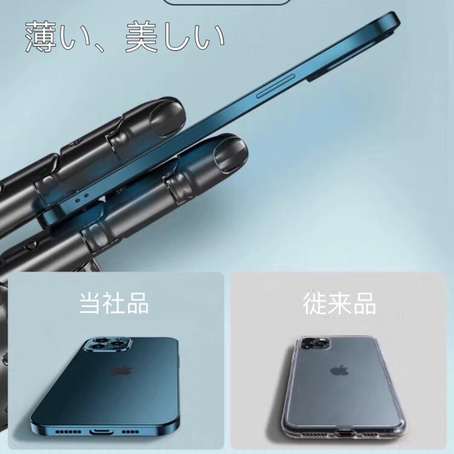 iPhone12 ケース iPhone12 Pro iPhone12 Pro Max iPhone12mini ケース カバー 指紋防止 レンズ保護 衝撃吸収 擦り傷防止 TPU 耐衝撃 薄型 軽量 ケース|francekids|08