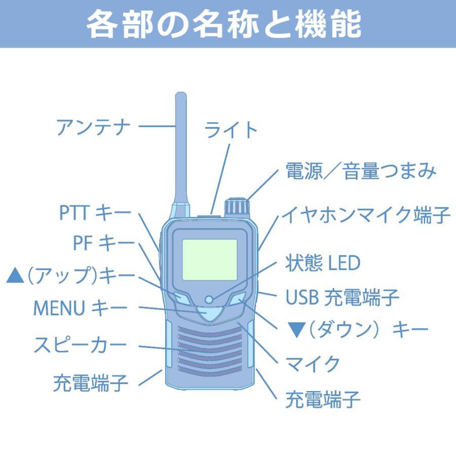 【送料無料】F.R.C. エフ・アール・シー NEXTEC 特定小電力トランシーバー FC-S22 [ 薄型・軽量 ] 充電器・ベルトクリップ等付属 frc-net 02