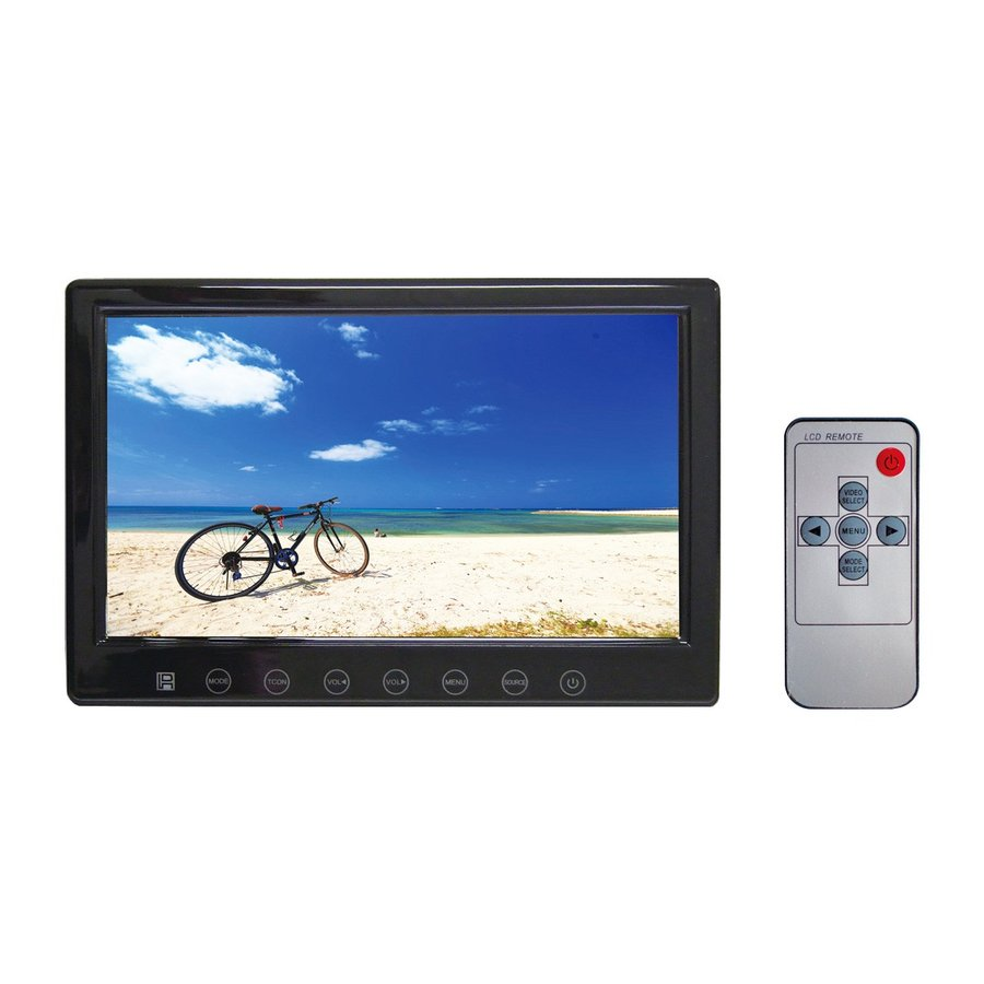 車載用 7V型 TFT LCDカラーモニター NX-701M|frc-net