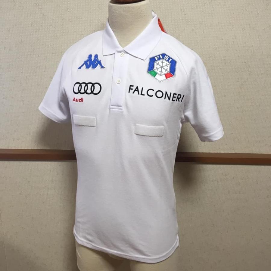 カッパ Kappa スキー スノーボード ウェア FISI イタリア代表 公式ポロシャツ|freak-10