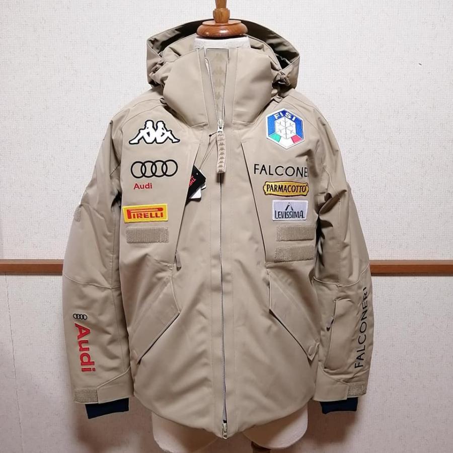 カッパ Kappa スキー スノーボード ウェア FISI イタリア代表 19/20 オーセンティック ジャケット freak-10 02