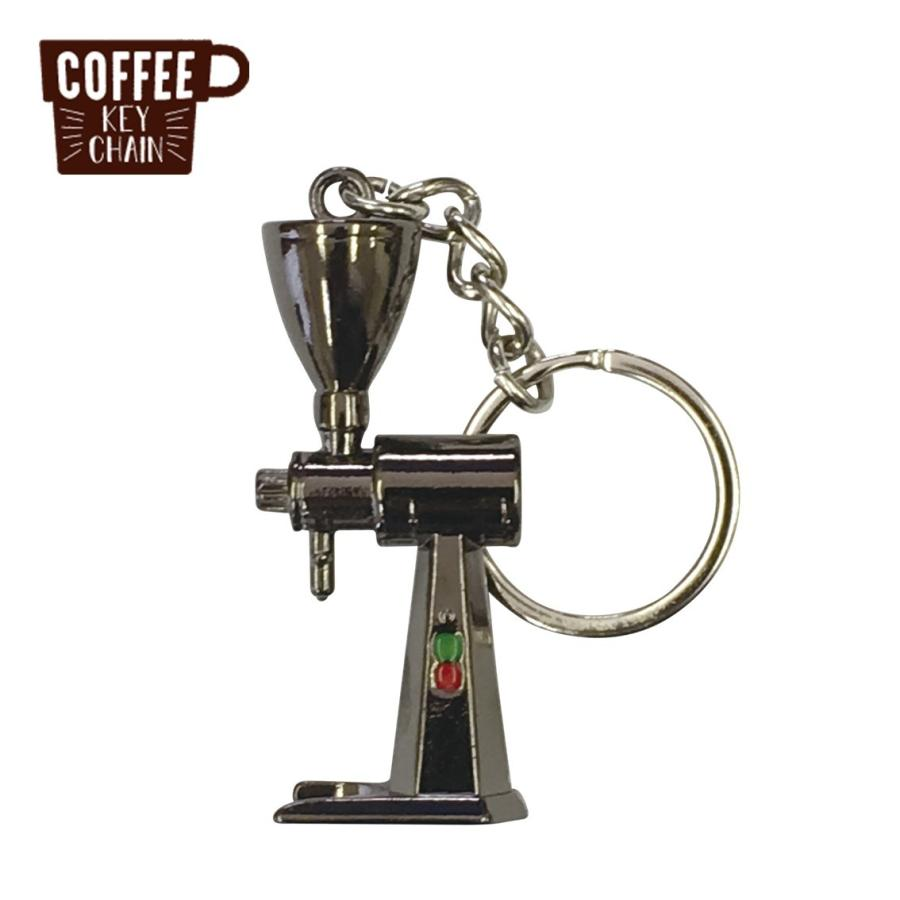 コーヒー アクセサリー 道具 キーホルダー コーヒーキーチェーン コーヒーグラインダー|freebirdcorp