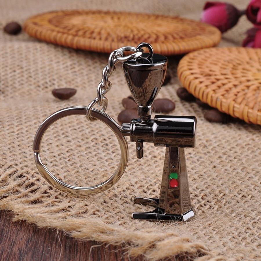 コーヒー アクセサリー 道具 キーホルダー コーヒーキーチェーン コーヒーグラインダー|freebirdcorp|02