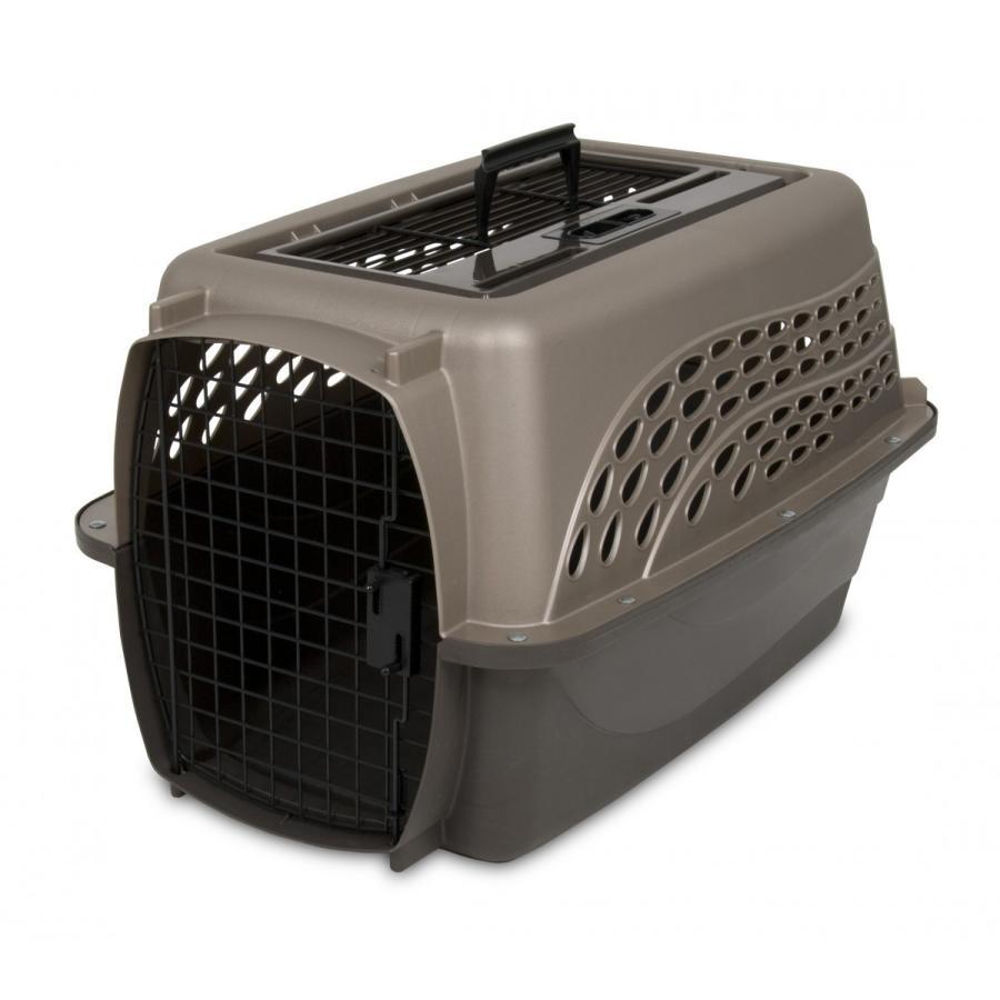 ペットケージ 旅行用 バリケンネル 飛行機 キャリー ダブルドア 上開き 超小型犬 猫 小動物 ウサギ SM ( 2ドアバリケンネル SM 2個セット ) freebirdcorp 02