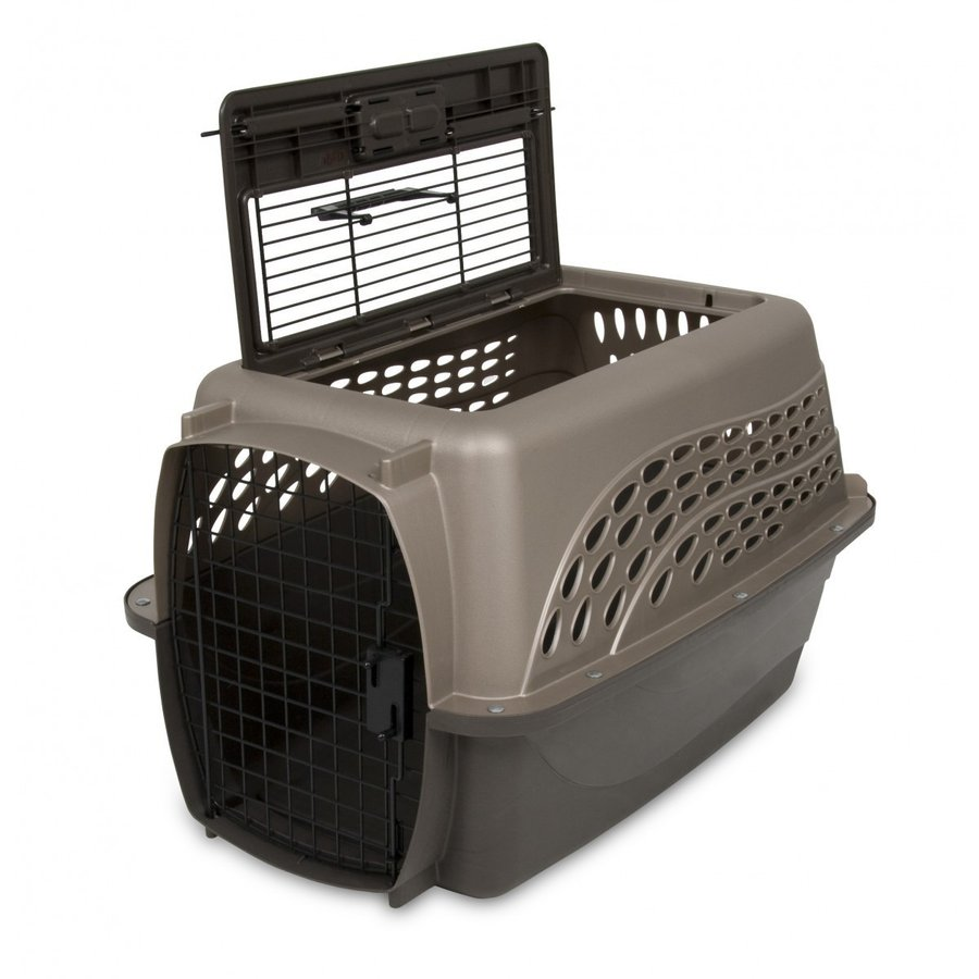 ペットケージ 旅行用 バリケンネル 飛行機 キャリー ダブルドア 上開き 超小型犬 猫 小動物 ウサギ SM ( 2ドアバリケンネル SM 2個セット ) freebirdcorp 03
