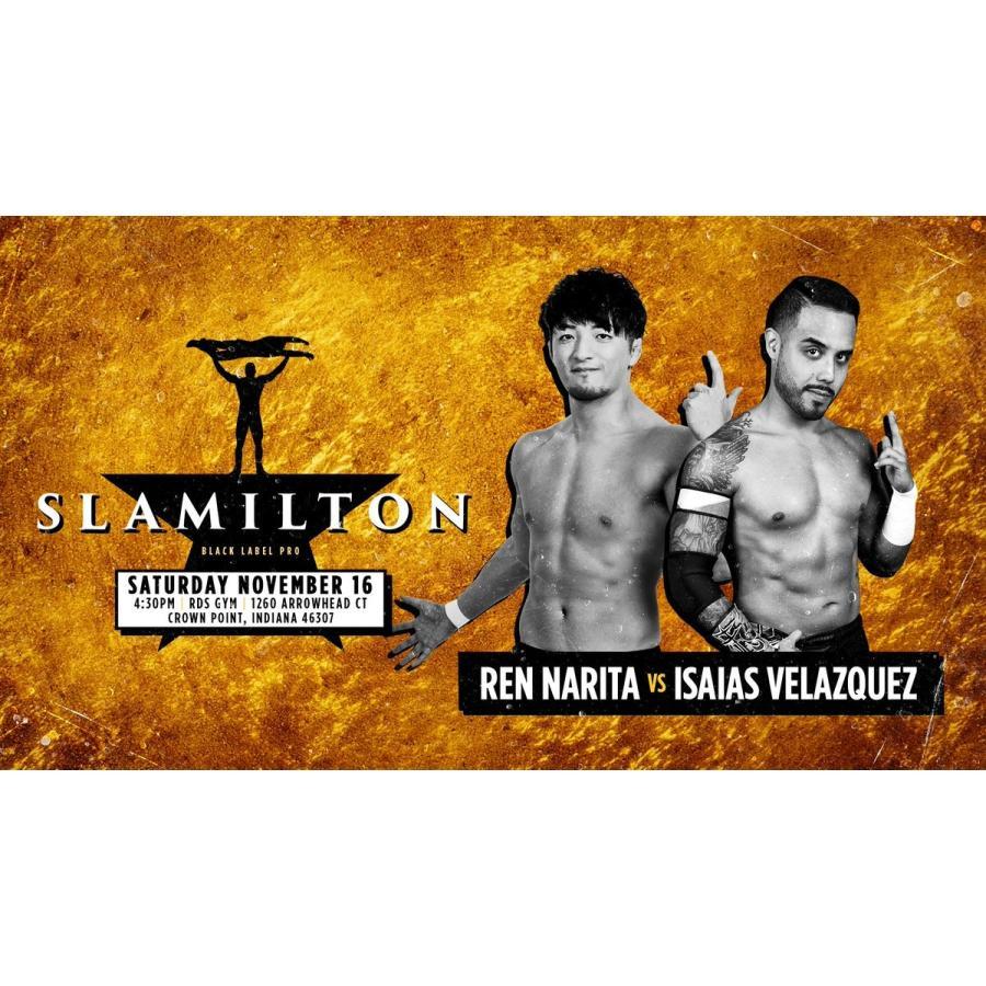 米インディープロレス Black Label Pro DVD「Slamilton 2」(2019年11月16日インディアナ州クラウンポイント)【新日本プロレス 成田蓮 参戦】 freebirds 02