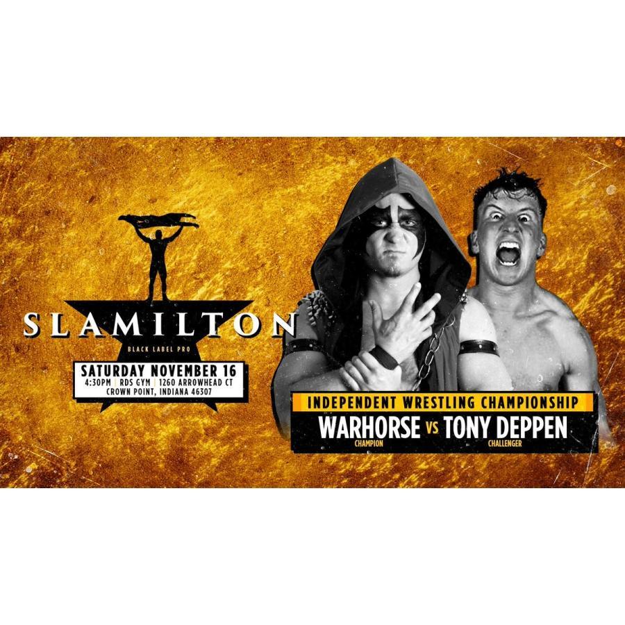 米インディープロレス Black Label Pro DVD「Slamilton 2」(2019年11月16日インディアナ州クラウンポイント)【新日本プロレス 成田蓮 参戦】 freebirds 04