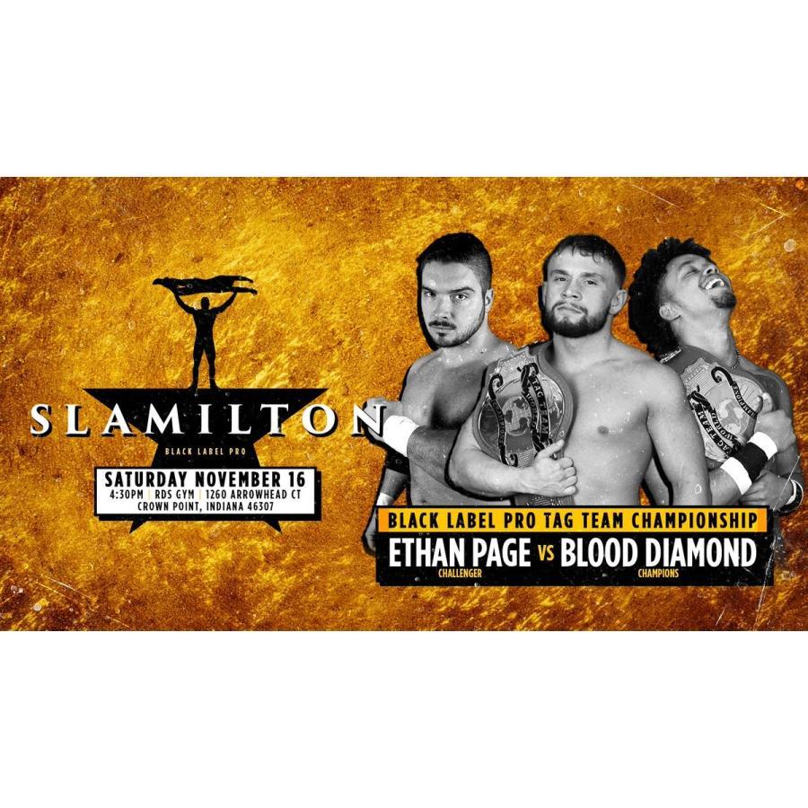 米インディープロレス Black Label Pro DVD「Slamilton 2」(2019年11月16日インディアナ州クラウンポイント)【新日本プロレス 成田蓮 参戦】 freebirds 10