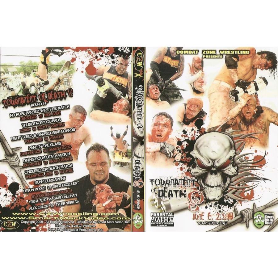 CZW DVD「Tournament Of Death 8...