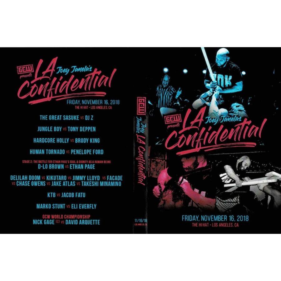 GCW DVD「Joey Janela's LA Confidential」(2018年11月16日 ...